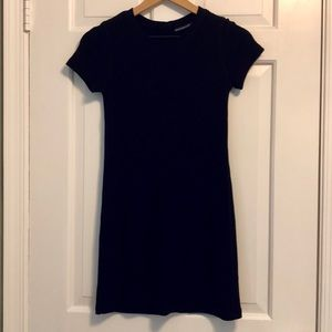 A&F Black Shirt Dress
